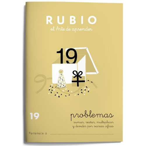 Cuaderno Problemas Rubio 19
