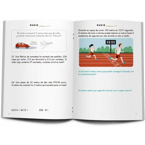 Cuaderno Problemas Rubio 19 detalle 1