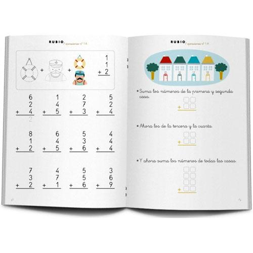 Cuaderno Problemas Rubio 1A detalle 2