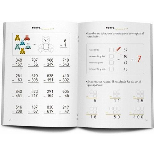 Cuaderno Problemas Rubio 2A detalle 1