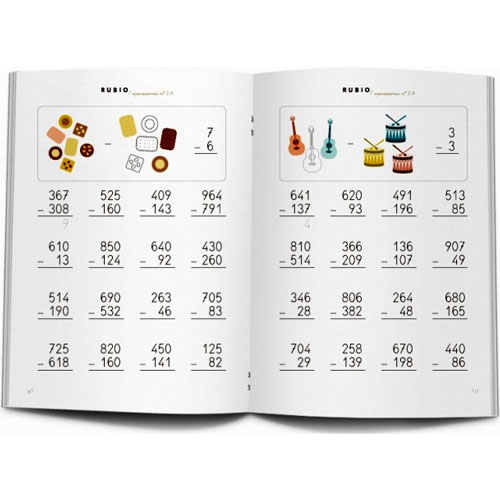 Cuaderno Problemas Rubio 2A detalle 2