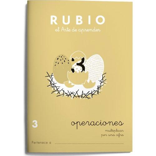 Cuaderno Problemas Rubio 3