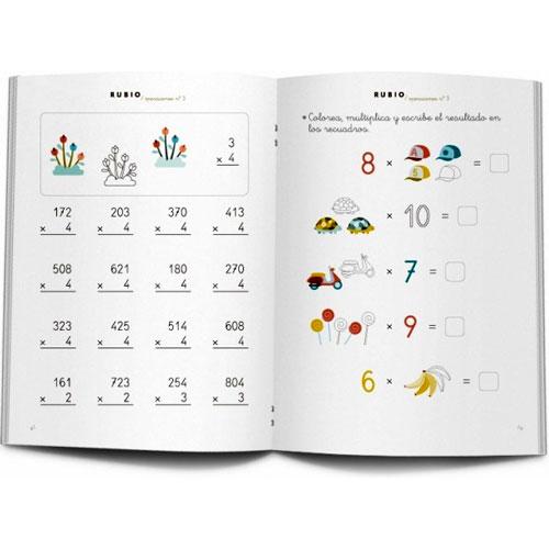 Cuaderno Problemas Rubio 3 detalle 1