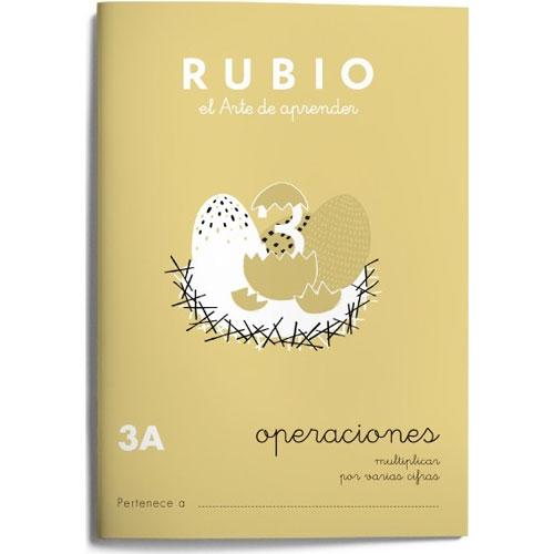 Cuaderno Problemas Rubio 3A