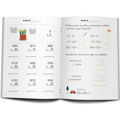 Cuaderno Problemas Rubio 3A detalle 2