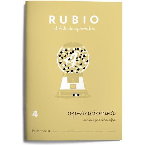 Cuaderno Problemas Rubio 4