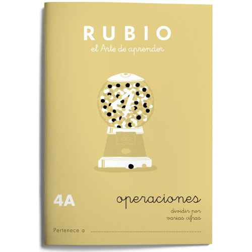 Cuaderno Problemas Rubio 4A