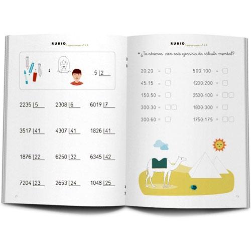 Cuaderno Problemas Rubio 4A detalle 1