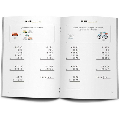 Cuaderno Problemas Rubio 5 detalle 1