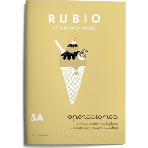 Cuaderno Problemas Rubio 5A