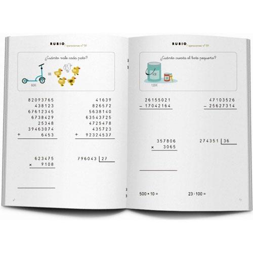 Cuaderno Problemas Rubio 5A detalle 2