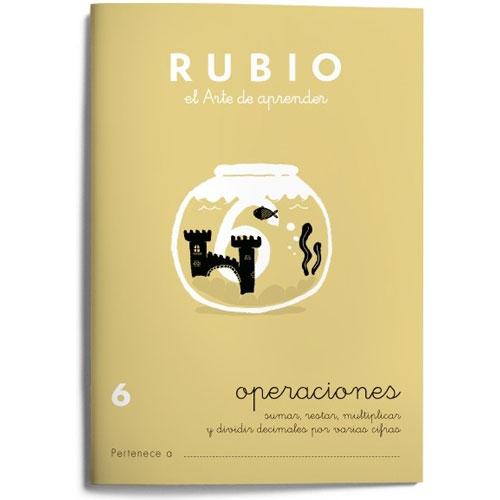 Cuaderno Problemas Rubio 6