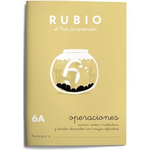 Cuaderno Problemas Rubio 6A