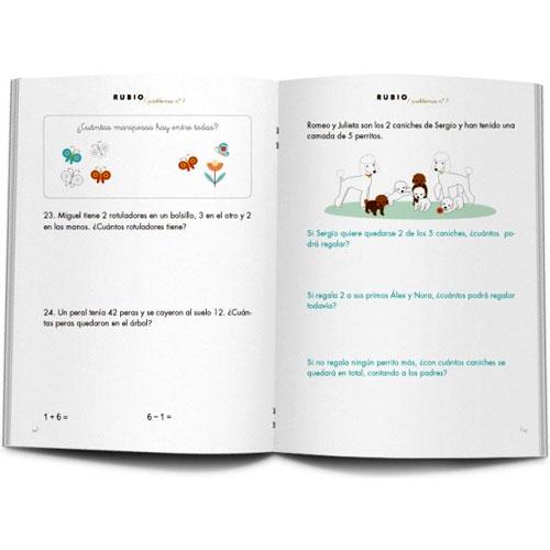 Cuaderno Problemas Rubio 7 detalle 1