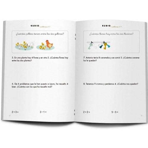 Cuaderno Problemas Rubio 7 detalle 2