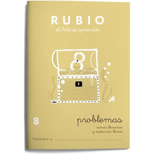 Cuaderno Problemas Rubio 8