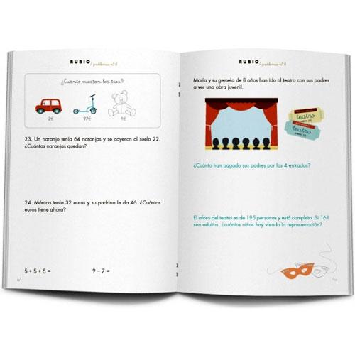 Cuaderno Problemas Rubio 8 detalle 1