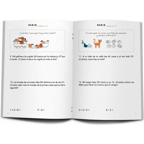 Cuaderno Problemas Rubio 8 detalle 2