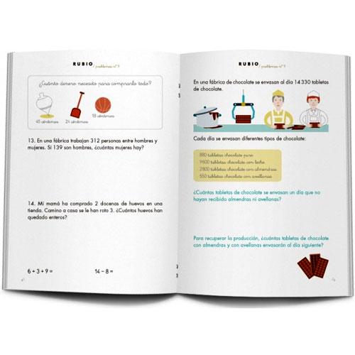 Cuaderno Problemas Rubio 9 detalle 1