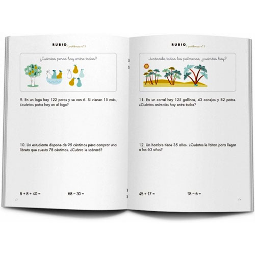 Cuaderno Problemas Rubio 9 detalle 2