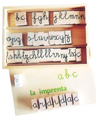Imprenta en madera