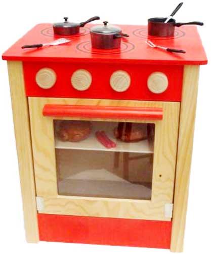 Cocina baja madera