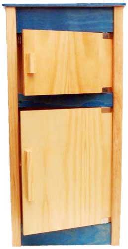 Frigorífico alto madera