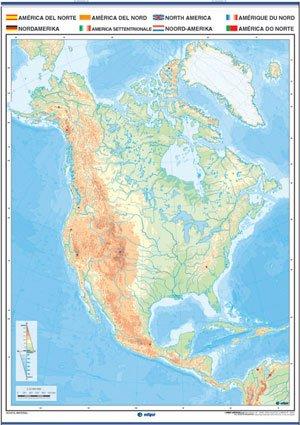 América del norte mudo f / p