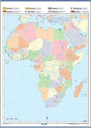 África mudo reverso