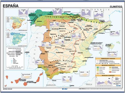 Reverso mapa España