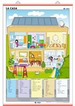 Lámina La casa - El barrio