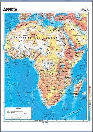 áfrica físico / político