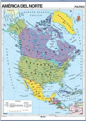 América del Norte reverso