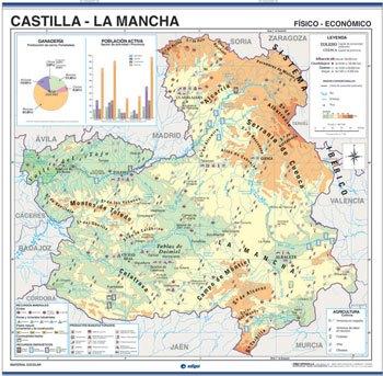 Castilla la mancha físico / político