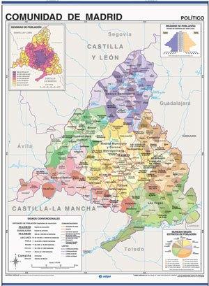 Mapa Madrid reverso