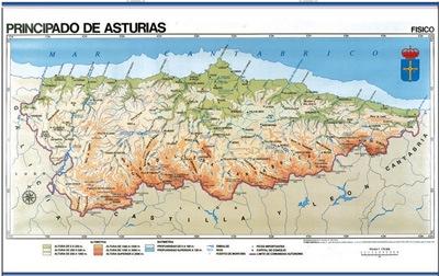 Asturias físico / político-económico