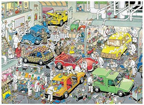 Puzzle En el mecánico