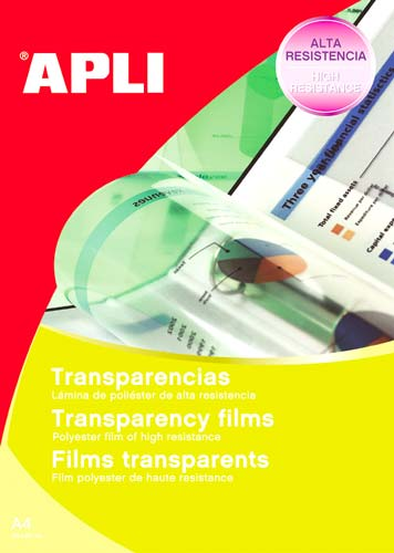 Transparencias impresora Inkjet 100 ud