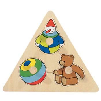 Encajable triangular juguetes
