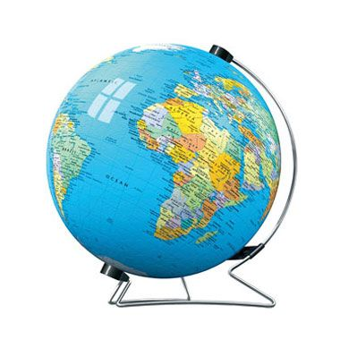 Puzzle Globo geográfico