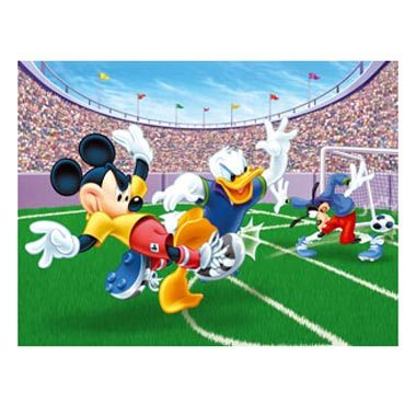 Puzzle Mickey en el estadio