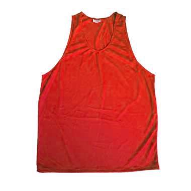 Peto deportivo talla p rojo