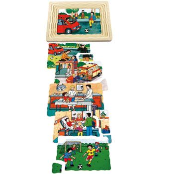 Puzzle Capas Accidente