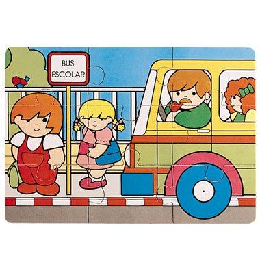 Zaro en el autobús