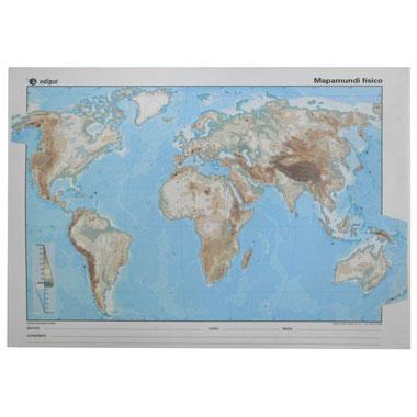 Mapa alumno Mundi físico