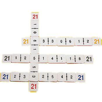 Dominó sumas al 21