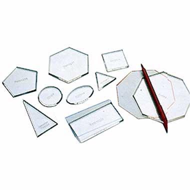 Plantillas formas transparentes