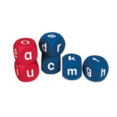 Dados inglés alfabeto