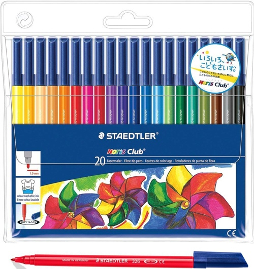 Rot. Staedtler fino 20 ud. surtidos