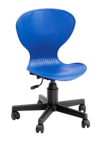 Silla para educadores, asiento de 35 a 43 cm detalle 3